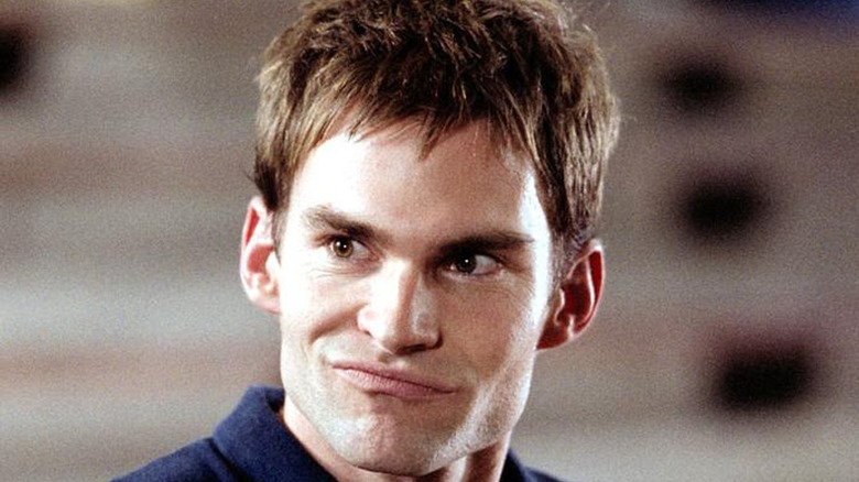 Steve Stifler smirking