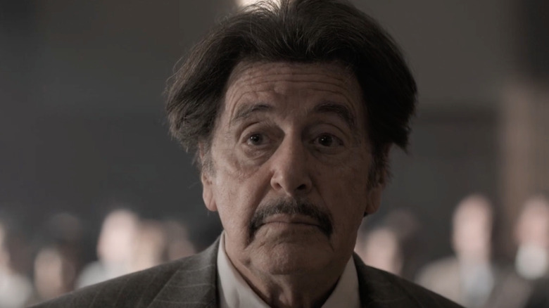 """Al Pacino in """"American Traitor: The Trial of Axis Sally"""