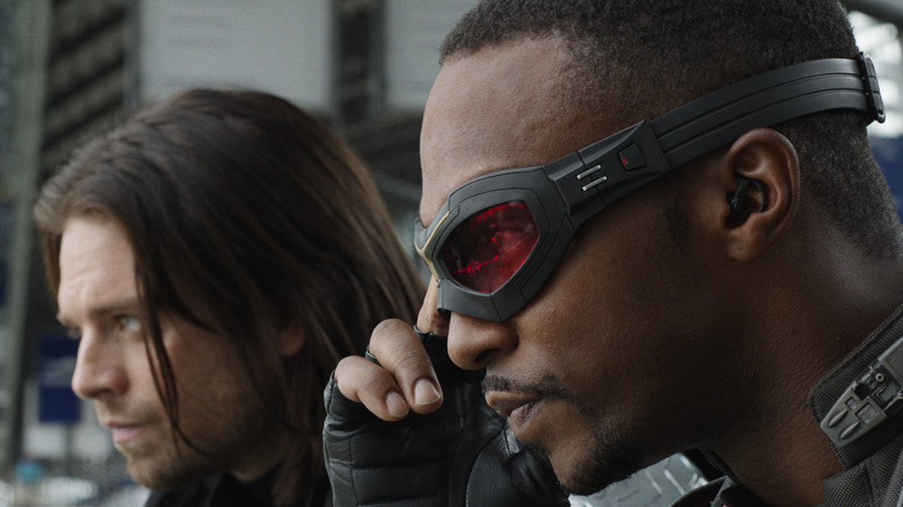 Bucky and Sam The Falcon and the Winter Soldier