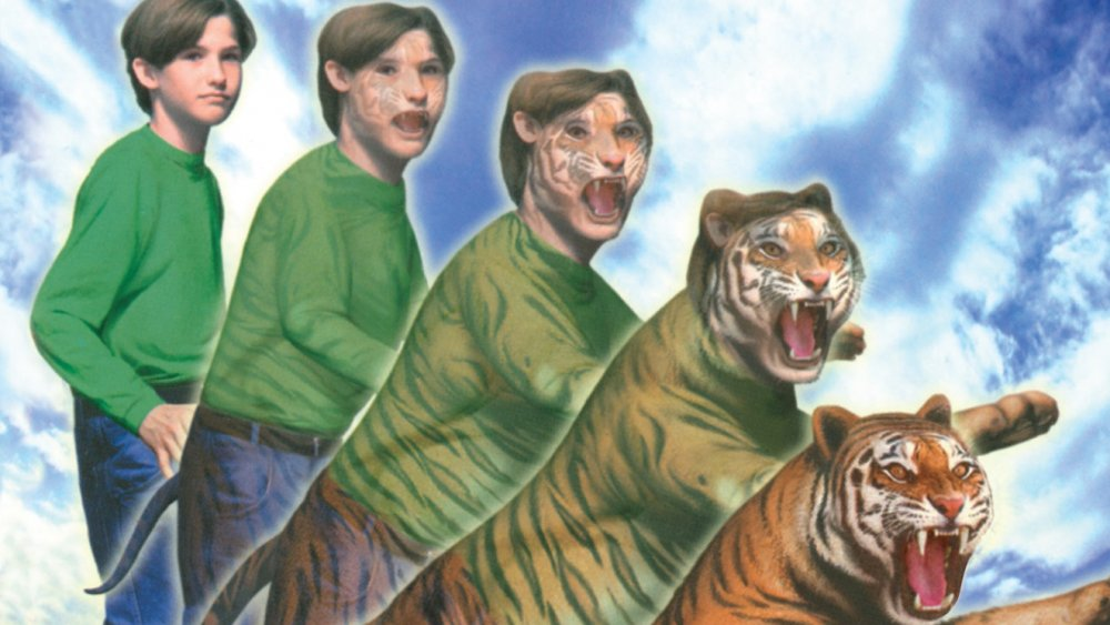 """Animorphs book cover """"The Attack"""""""