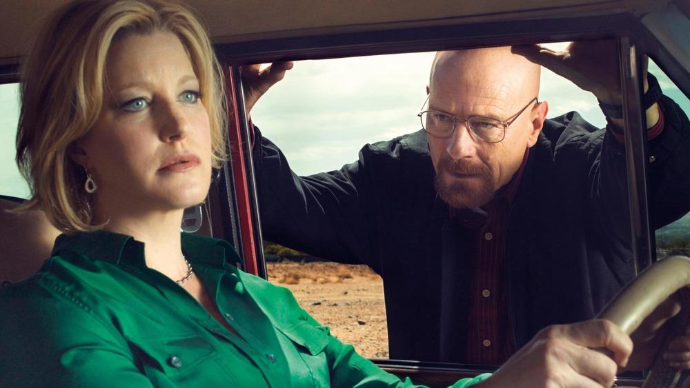 Skyler and Walt in Breaking Bad