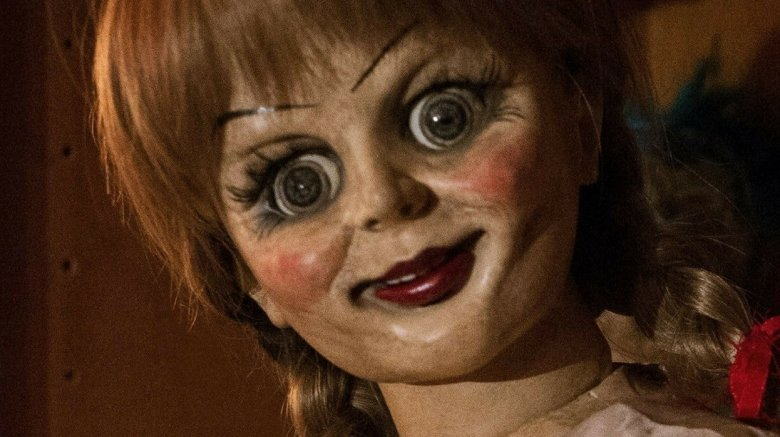 Annabelle doll from The Conjuring