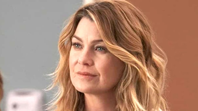 Ellen Pompeo as Dr. Meredith Grey on 'Grey's Anatomy'