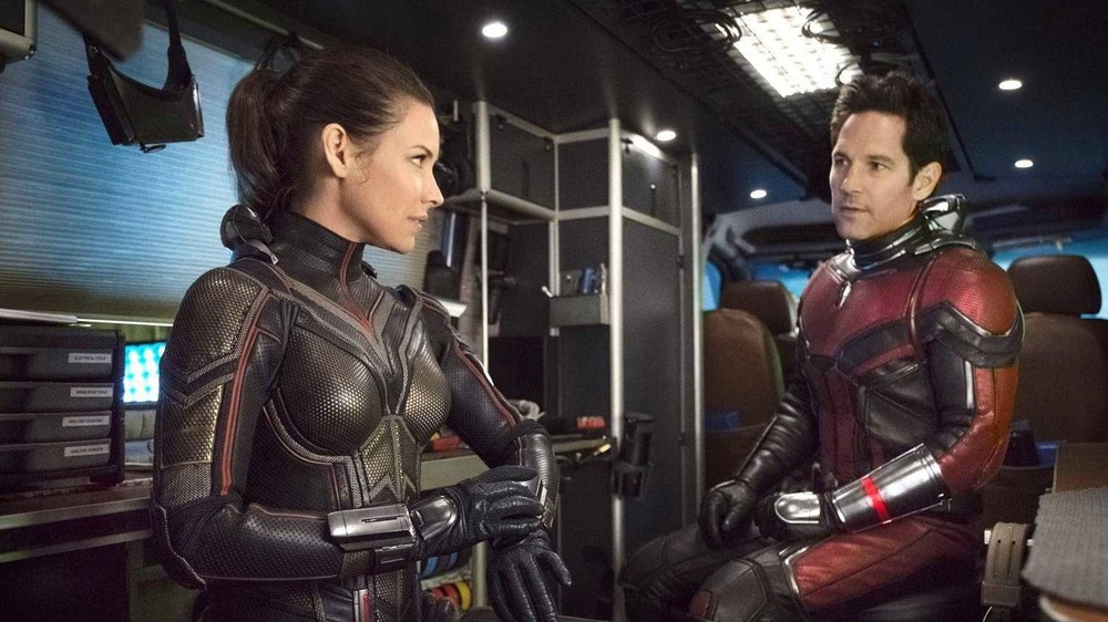 Paul Rudd and Evangeline Lilly star in Ant-Man and the Wasp