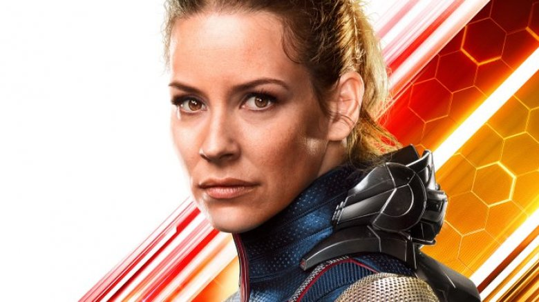 Evangeline Lilly as Hope van Dyne in Ant-Man and the Wasp