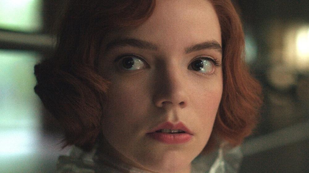 Taylor-Joy in The Queen's Gambit