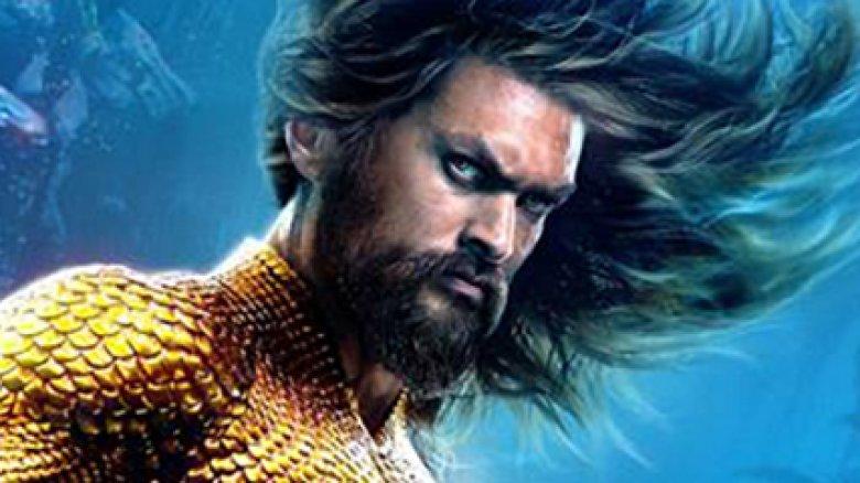 Jason Momoa Aquaman character poster