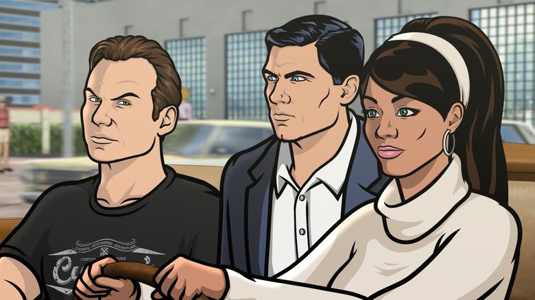 Slater, Archer, and Lana