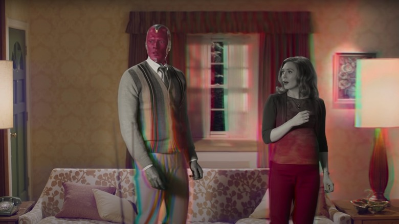 Wanda and Vision surprised in home