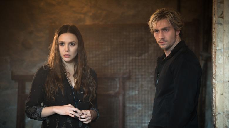 Wanda and Pietro Maximoff