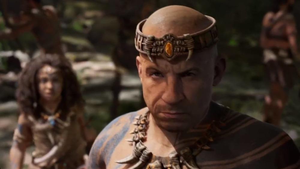 Vin Diesel stares ahead intensely in Ark 2 trailer