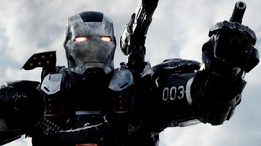 Don Cheadle as War Machine in Civil War