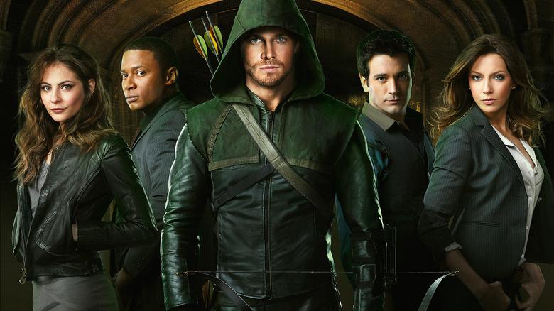 Cast of Arrow