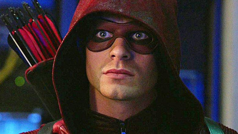 Colton Haynes as Roy Harper on Arrow