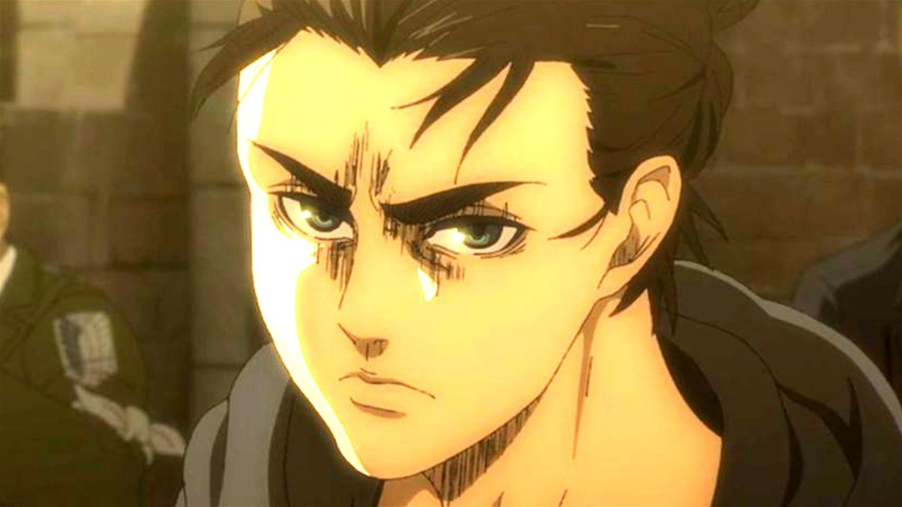 Attack on Titan Eren Angry