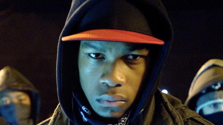 John Boyega Moses hat hoodie