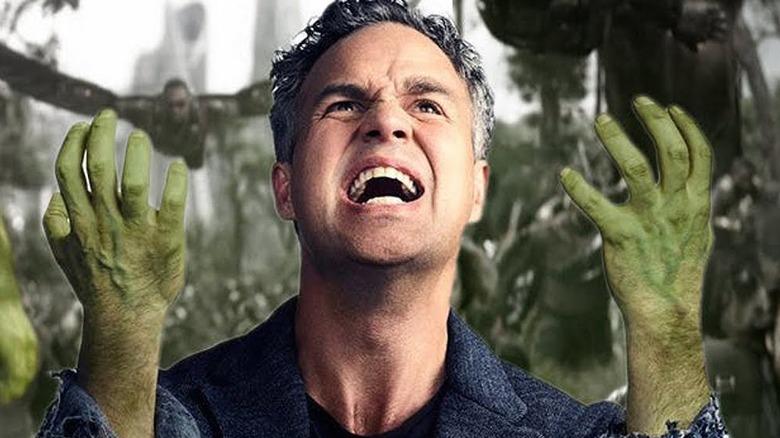 Avengers Infinity War Mark Ruffalo Bruce Banner Hulk