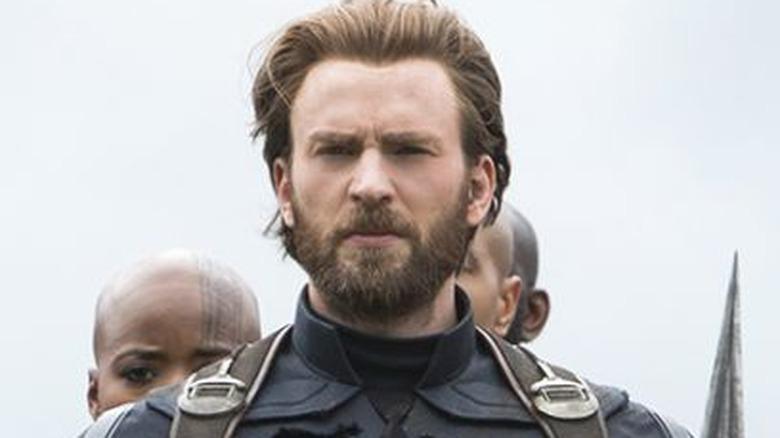 Avengers Infinity War Captain America Black Panther Black Widow