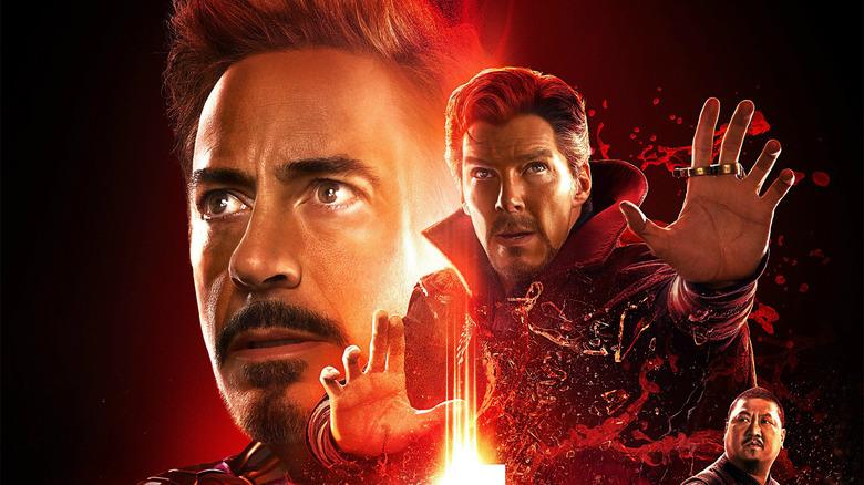 Avengers: Infinity War poster Iron Man Doctor Strange Wong