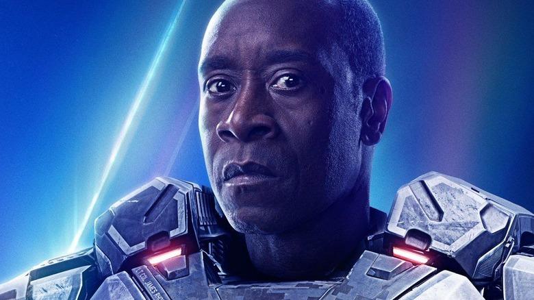 Don Cheadle War Machine Avengers: Infinity War poster