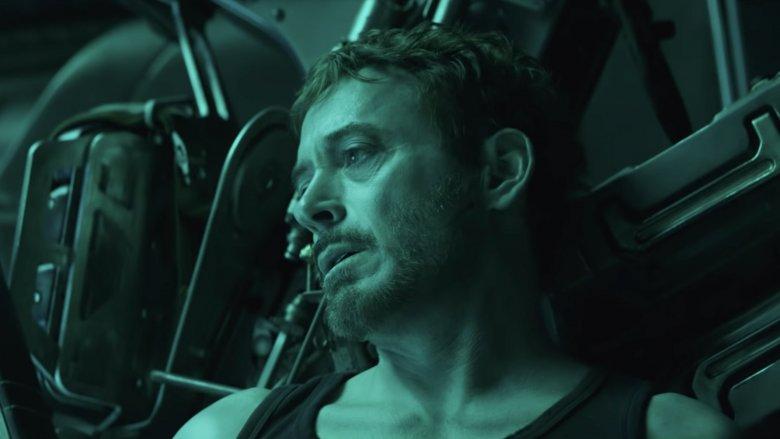Robert Downey Jr. Tony Stark Avengers Endgame