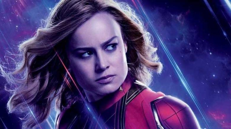 Avengers Endgame Captain Marvel poster