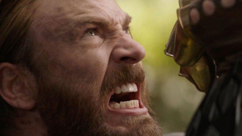 Captain America vs Thanos Avengers Infinity War