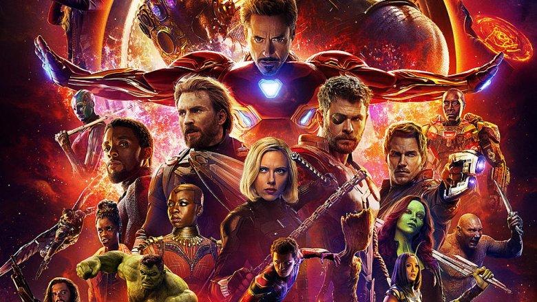 Avengers: Infinity War cast poster