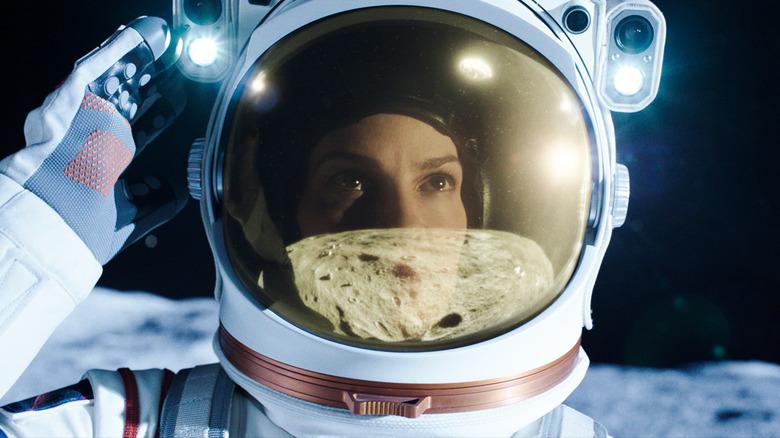 Hilary Swank sets foot on Mars in Away