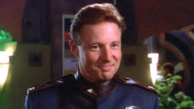 Bruce Boxleitner as Commander John Sheridan on Babylon 5