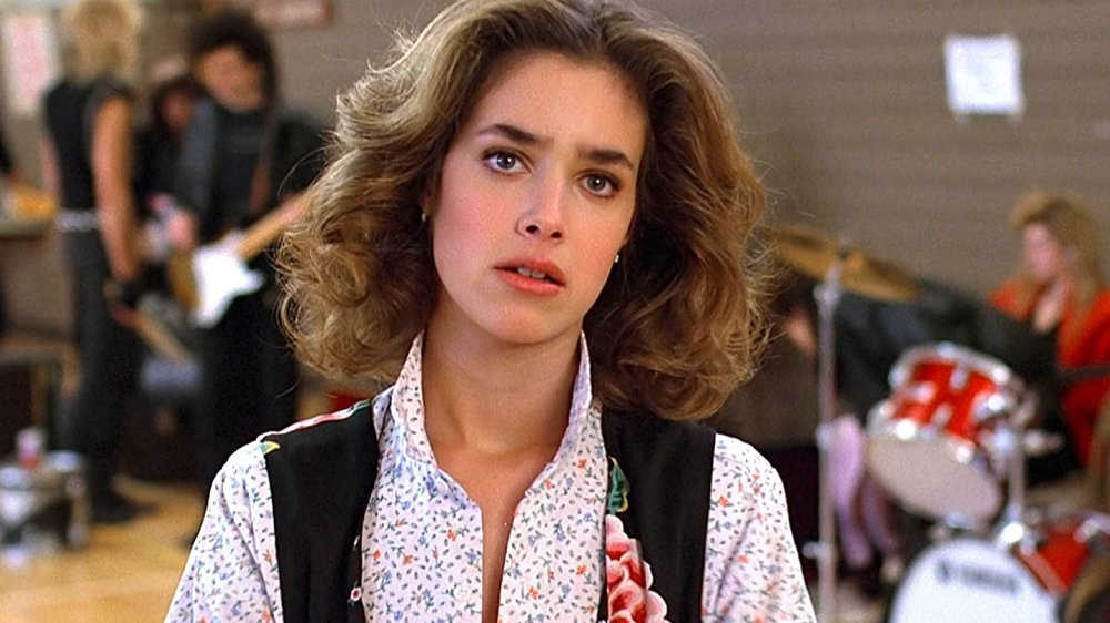 Claudia Wells as Jennifer Parker in Back to the Future