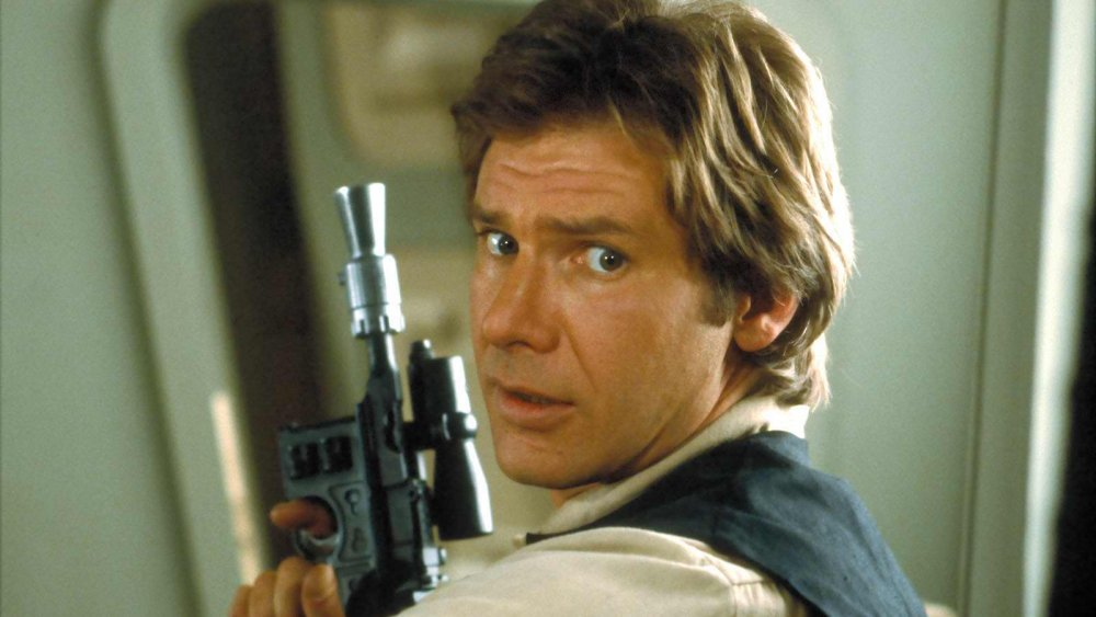 Harrison Ford as Han Solo in Star Wars: Return of the Jedi