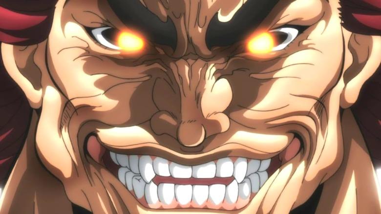 Yujiro with glowing eyes