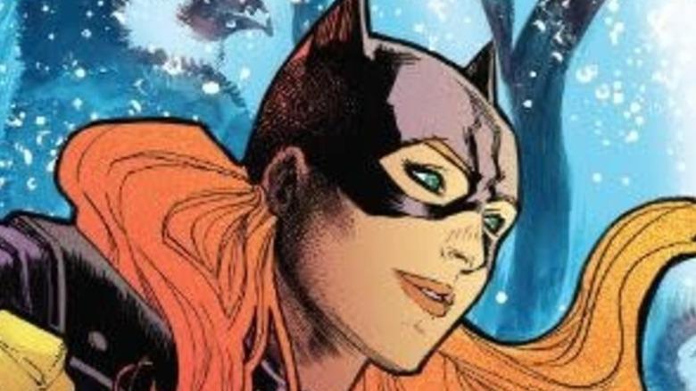 Batgirl cover Penguin