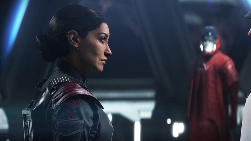 Janina Gavankar as Iden Versio in Battlefront II