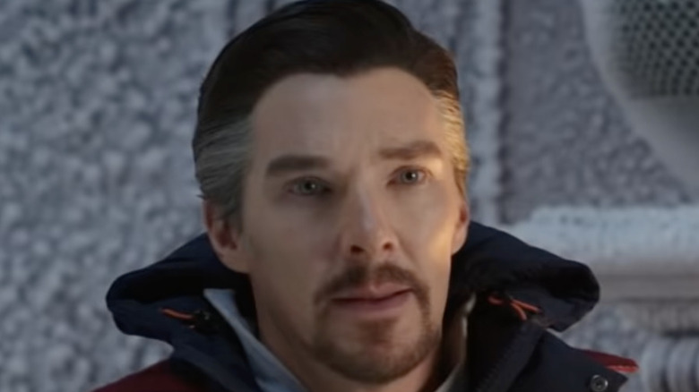Doctor Strange looking on