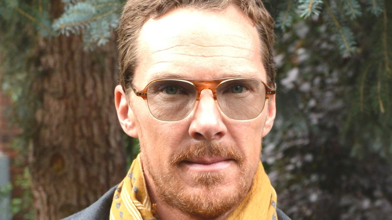 Benedict Cumberbatch wearing sunglasses