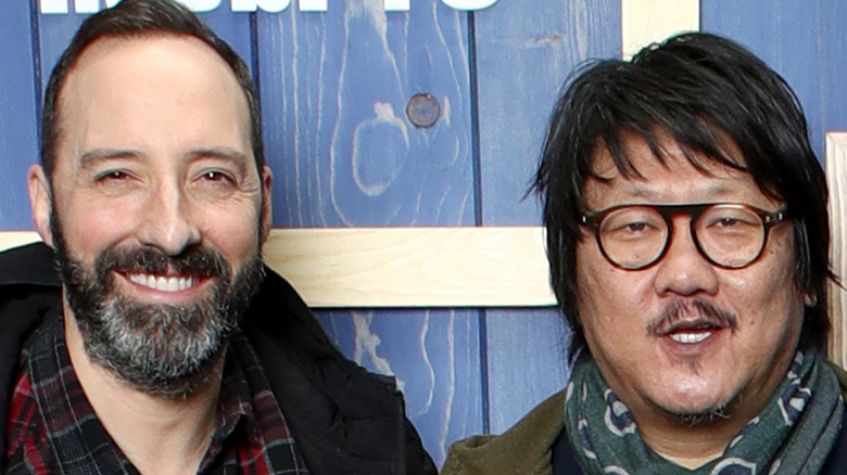 Tony Hale and Benedict Wong