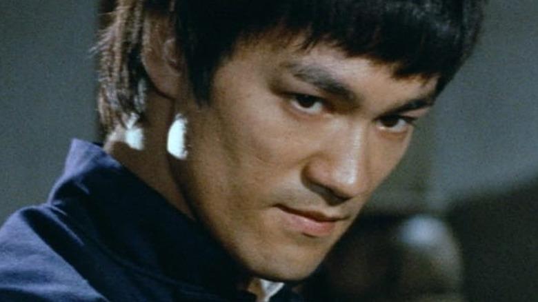 Bruce Lee punching