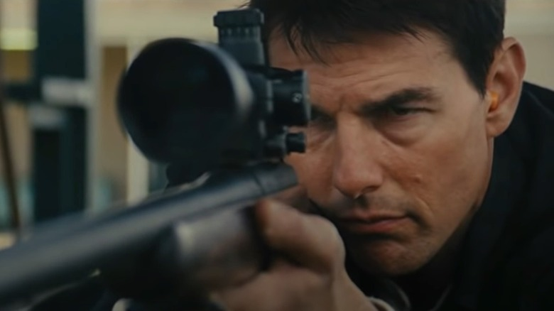 Jack Reacher with gun