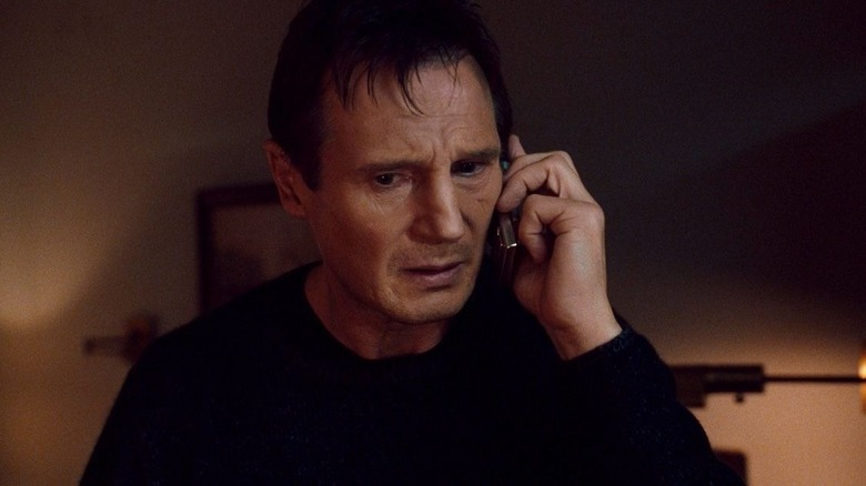 Bryan Mills on the phone