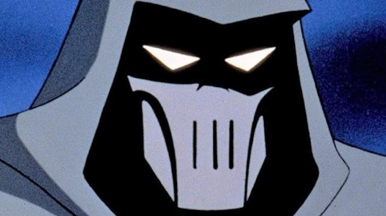 Mask of the Phantasm scowling