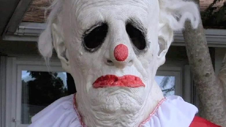 Wrinkles the Clown looking creepy