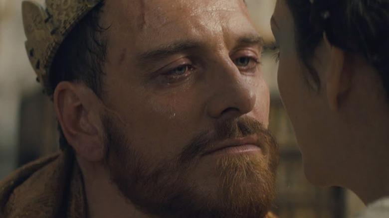 Macbeth crying