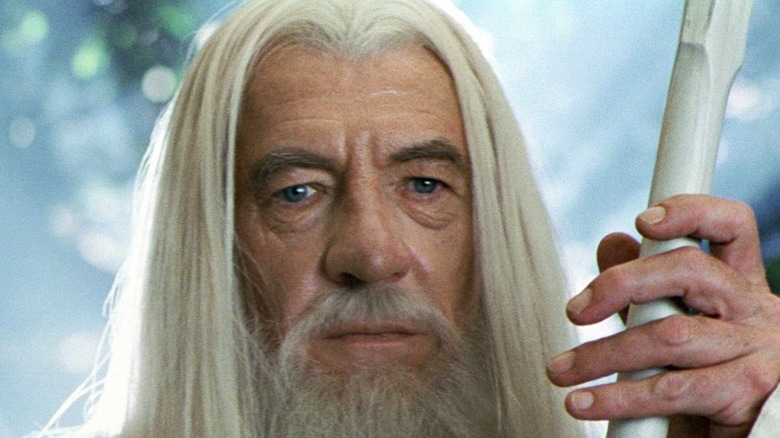Gandalf and his staff