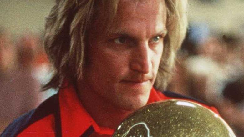 Woody Harrelson bowling