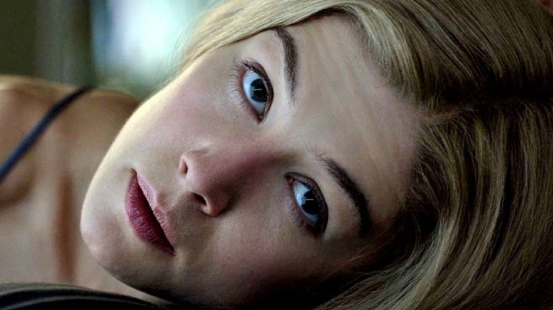 Rosamund Pike in bed