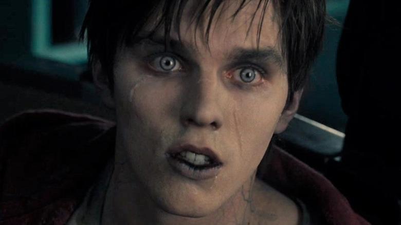 Nicholas Hoult zombie staring