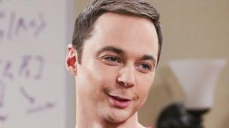 Sheldon Cooper smiling