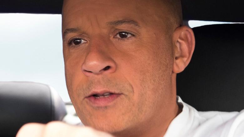 Vin Diesel driving